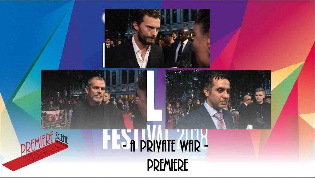 A Private War Premiere