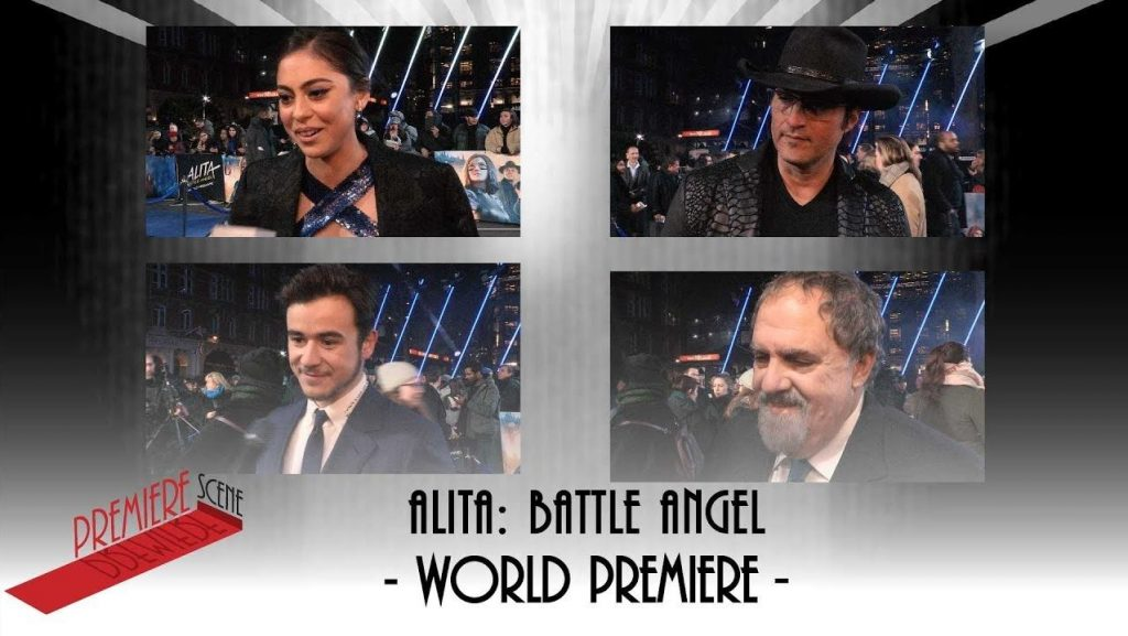 Alita Battle Angel Premiere