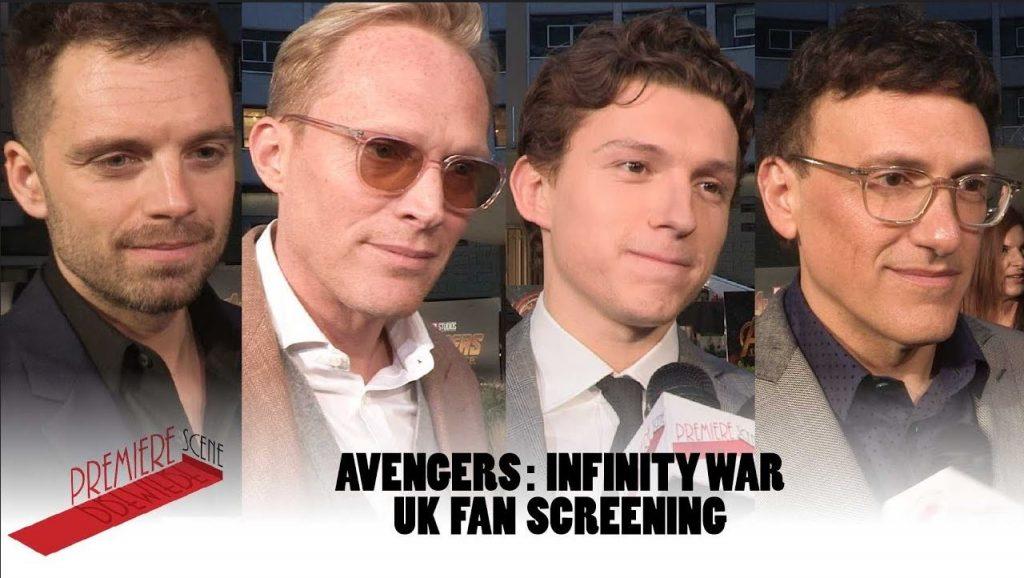 Avengers Infinity War fan screening