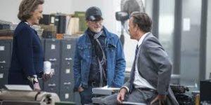 Meryl Streep, Steven Spielberg & Tom Hanks -the post