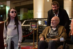 Laura, Logan & Professor X on the road