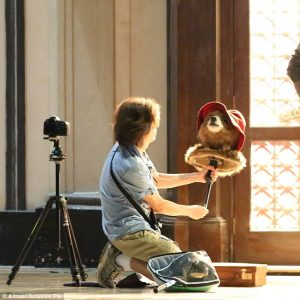 Paddington behind the scenes