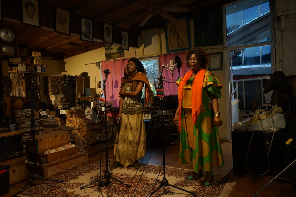 Jah9 and Judy Mowatt