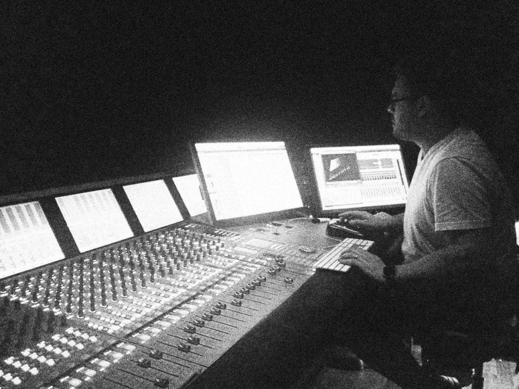Ben Carr Sound Desk