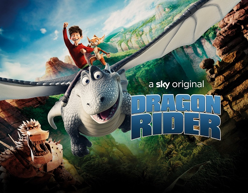 Dragon Rider Quad Poster