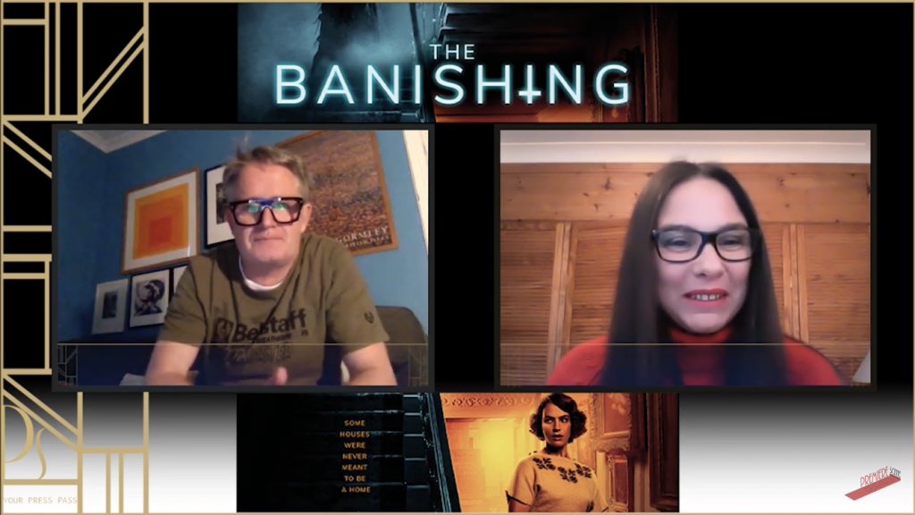 Chris Smith Claire Bueno The-Banishing Interview