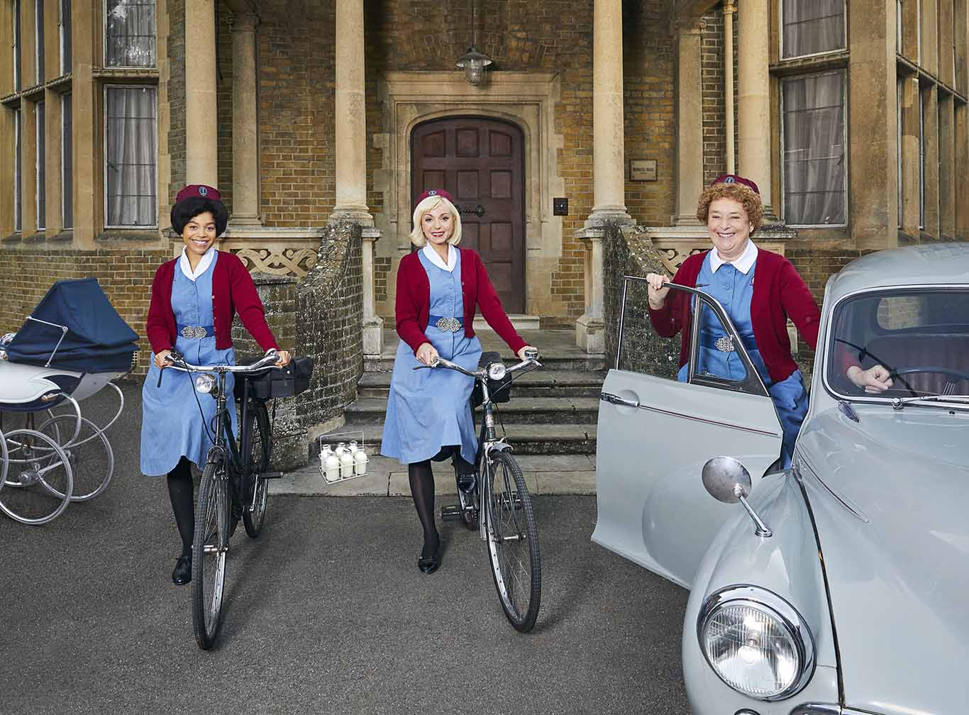 Leonie Elliott - Nurse Lucille Anderson - Call the Midwife - Photographer Nicky Johnston