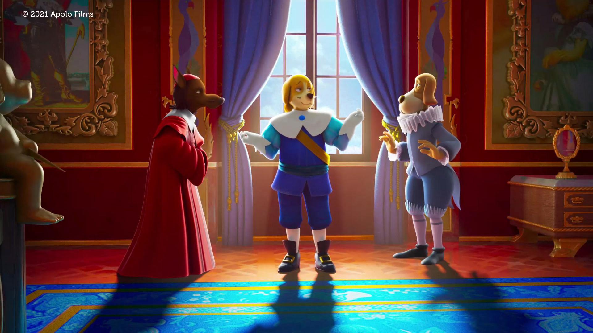 Dogtanian and the Three Muskehounds - King Louis - Cardinal Richelieu