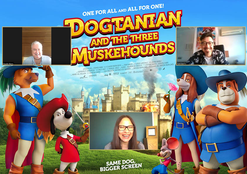 Dogtanian and the Three Muskehounds.- Claudio Biern - Toni Garcia - Claire Bueno