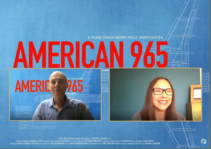 American 965 - Tristan Loraine Claire Bueno Premiere Scene