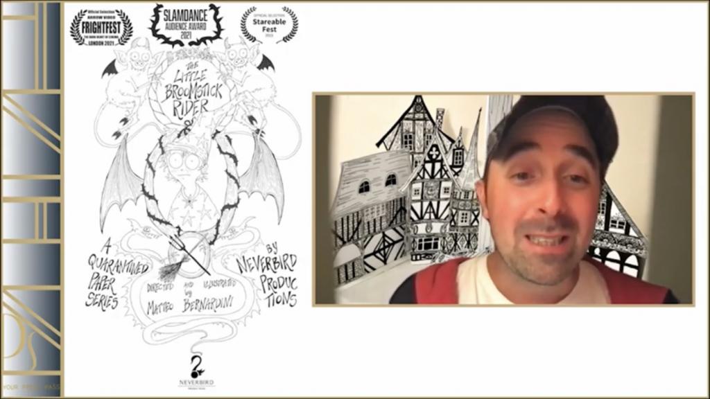 The Little Broomstick Rider director, Matteo Bernardini
