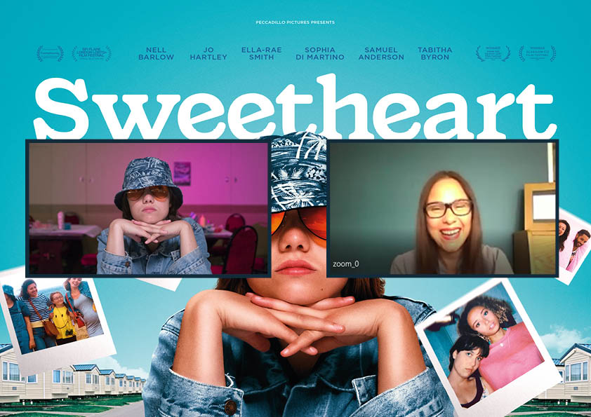 Sweetheart interview -Nell Barlow and Claire Bueno Premiere Scene